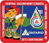 We are part of the Central Escarpment Council Contingent too!