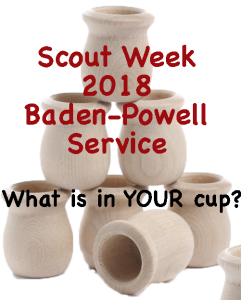 Scout Week Baden-Powell Service